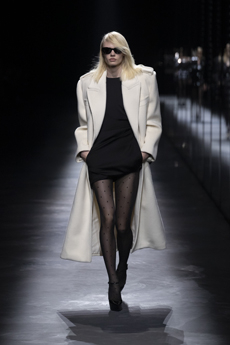 191cb890b0d Anthony Vaccarello presented a strong vision for Saint Laurent gradually  evolved season after season into an enchanting identity celebrating the  Maison s ...