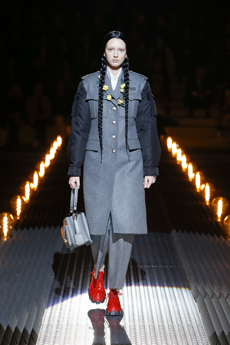48e48a53ecc Prada does however stay true to its roots with some staple pieces