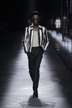 4a0c372b6c347 But the collection also featured the vertiginously short minidresses  Vaccarello is known for in the last looks that stormed in the catwalk as a  totally ...